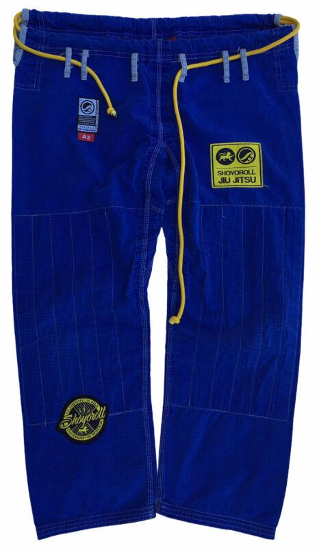 Shoyoroll jiu jitsu Size A2 pants jiu jitsu versus the world blue yellow