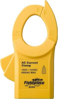 Fieldpiece Ach4 Ac Current Clamp 1aac1mvac 400aac Max
