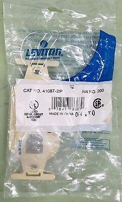 Single Pack of Leviton  41087-2IP Duplex Type 106 Insert 2-Port Ivory