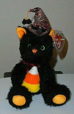 Ty Beanie Baby - FRIGHTFUL the Black Cat (Borders Exclusive) MINT with MINT TAGS