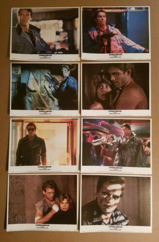 THE TERMINATOR 1984 Original COMPLETE 11x14 Lobby Card Set Arnold Schwarzenegger