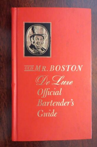 Vintage Old Mr. Boston DeLuxe Official Bartender