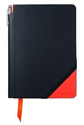Cross Jot Zone Journal, Black/Orange, Medium (AC273-1M) 160 pages NEW!