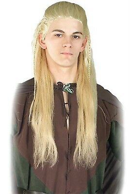 Legolas Greenleaf Wig Lord of the Rings Hobbit Elf Costume Halloween - Lord Of The Rings Legolas Halloween Costumes