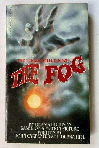 1980 JOHN CARPENTER THE FOG Bantam Books - Dennis Etchison MOVIE TIE 1st PRINT