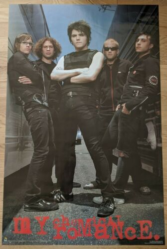 """My Chemical Romance Poster 2005 34.5"""" x 22.25"""""""