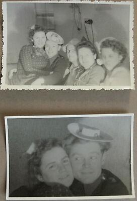 Vintage alt Fotos verliebtes Paar Verlobung Kostüm Party Familie Spaß 20er - Vintage Kostüm Fotos