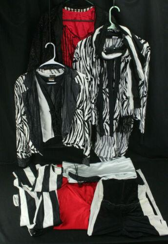 Rare VTG Michi Spandex Rock Star Glam Hair Metal Clothing Lot Pants Shirts Small