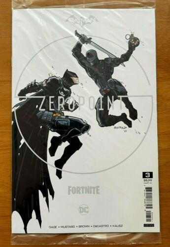 Batman Fortnite Zero Point #3 Donald Mustard Variant DC NM
