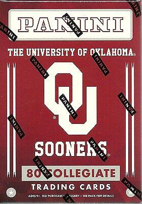 2016 Panini Oklahoma University OU Sooners Multi-Sport Blaster Box Trading Cards