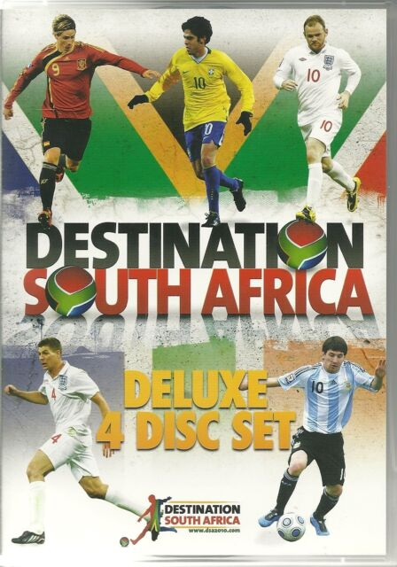 DESTINATION SOUTH AFRICA DELUXE 4 DVD BOX SET - FOOTBALL