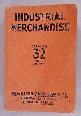 Mcmaster Carr Catalog  32   1931