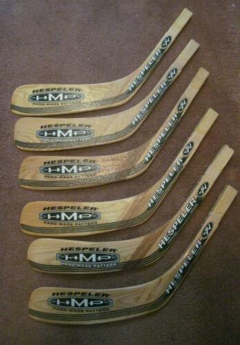 Lot Of 6 Hespeler Hockey Stick Blades Junior Left Hand Shooter (New)