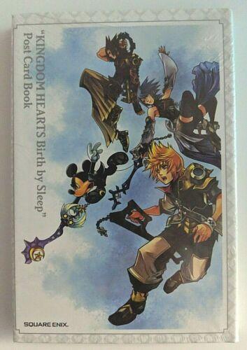 Kingdom Hearts Birth by Sleep Postcard Book