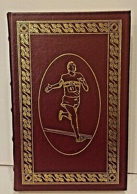 Four MInute Mile, signed edition by Roger Bannister, Easton Press