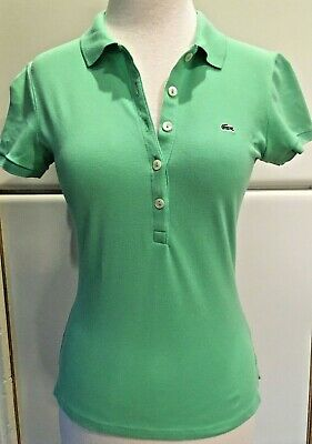 LACOSTE Women's Green  Top