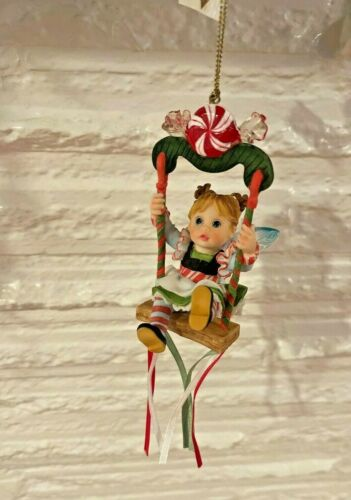 RARE My Little Kitchen Fairies ~ SWING FAIRY ORNAMENT ~ RARE Christmas ORNAMENT