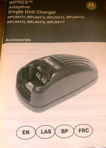 MOTOROLA IMPRES ADAPTIVE RAPID BATTERY CHARGER  - WPLN4114AR