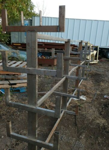 Cantilever Stock Rack – Double Sided Shop Made