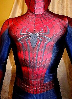 TASM II The Amazing Spider-Man 2 Cosplay Costume (Amazing Spiderman Suit)