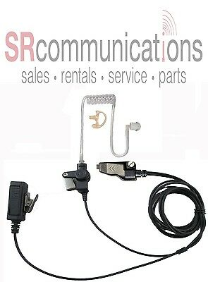 Police Headset Wptt For Kenwood Nx200 Nx300 Tk2180 Tk3180 Tk5210 Tk5410 Nx210