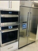 Gasline&stove/dishwasher/chimney microwave oven installation