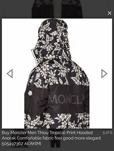 4f3be28015b3 Tropical Print Moncler Brand New Condition
