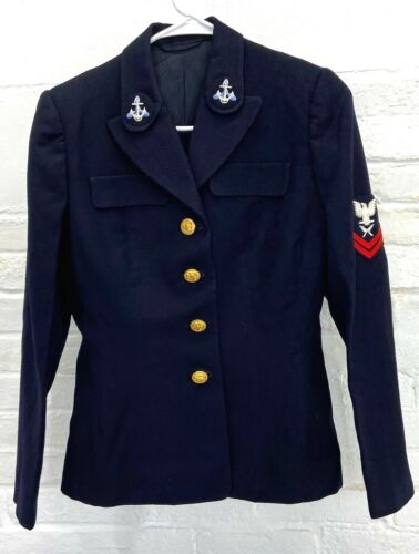 WWII US Navy Female Wave Enlisted Dress Jacket