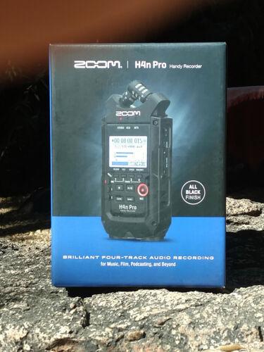 ZOOM H4n Pro BLACK HANDY RECORDER BRAND NEW H4NPRO