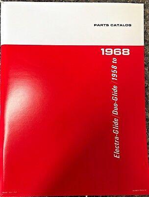 Harley FL FLH Parts Manual Book 1958 to 1968 Shovelhead Panhead Electra-Glide ()