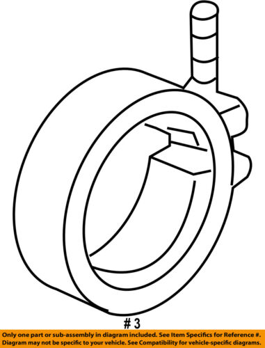 Vw Volkswagen Oem 09 15 Jetta 2 0l L4 Exhaust Converter Pipe Clamp