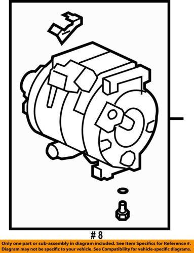 C Ac Compressor 38810r70a01 729884215279
