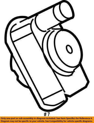 Chrysler Oem Vapor Canister Detection Pump 4861961ab