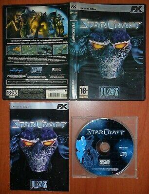 Usado, StarCraft (Star Craft) [PC CD-ROM] Blizzard Entertainment, Versión Española segunda mano  Arroyo de las Palmas