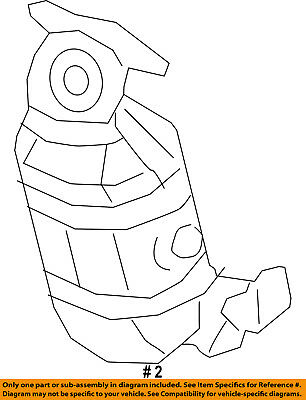CHRYSLER OEM-Catalytic Converter 68105874AG