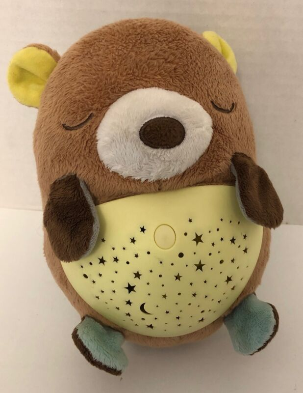 Skip Hop MOONLIGHT MELODIES HUG ME BEAR Musical Light-Up Projector Soother