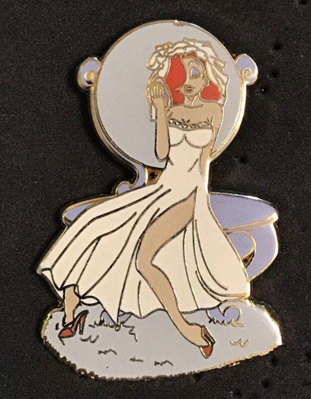 Unauthorized Disney Fantasy Jessica Rabbit White Dress LE/100 Pin