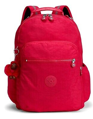 Kipling SEOUL GO Large Backpack with Laptop Compartment - True Pink
