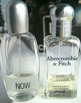🎁Lot of 2 Vintage Abercrombie & Fitch AF signature Fragrance Woman Now