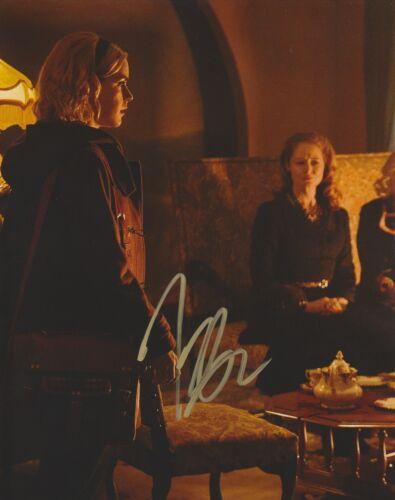 Kiernan Shipka Chilling Adventures Sabrina Autographed Signed 8x10 Photo COA AD1