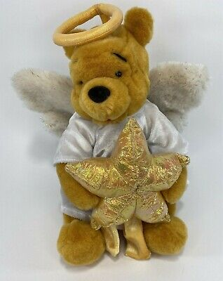 Disney Store Winnie The Pooh Christmas Angel Tree Topper