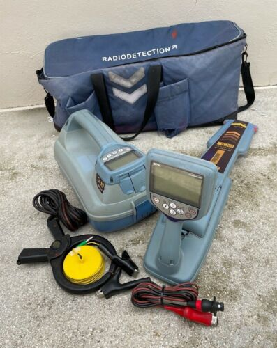 SPX Radiodetection RD8000 PDL & TX-10 Pipe & Cable Locator W/ Bag