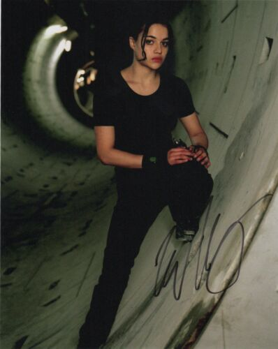 Michelle Rodriguez Resident Evil Autographed Signed 8x10 Photo COA AB33