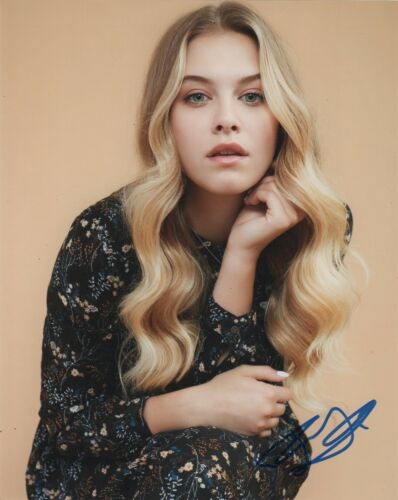 Tiera Skovbye Autographed Signed 8x10 Photo COA #C59