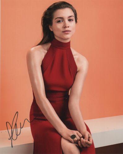 Sophie Cookson Kingsman Autographed Signed 8x10 Photo COA #D8