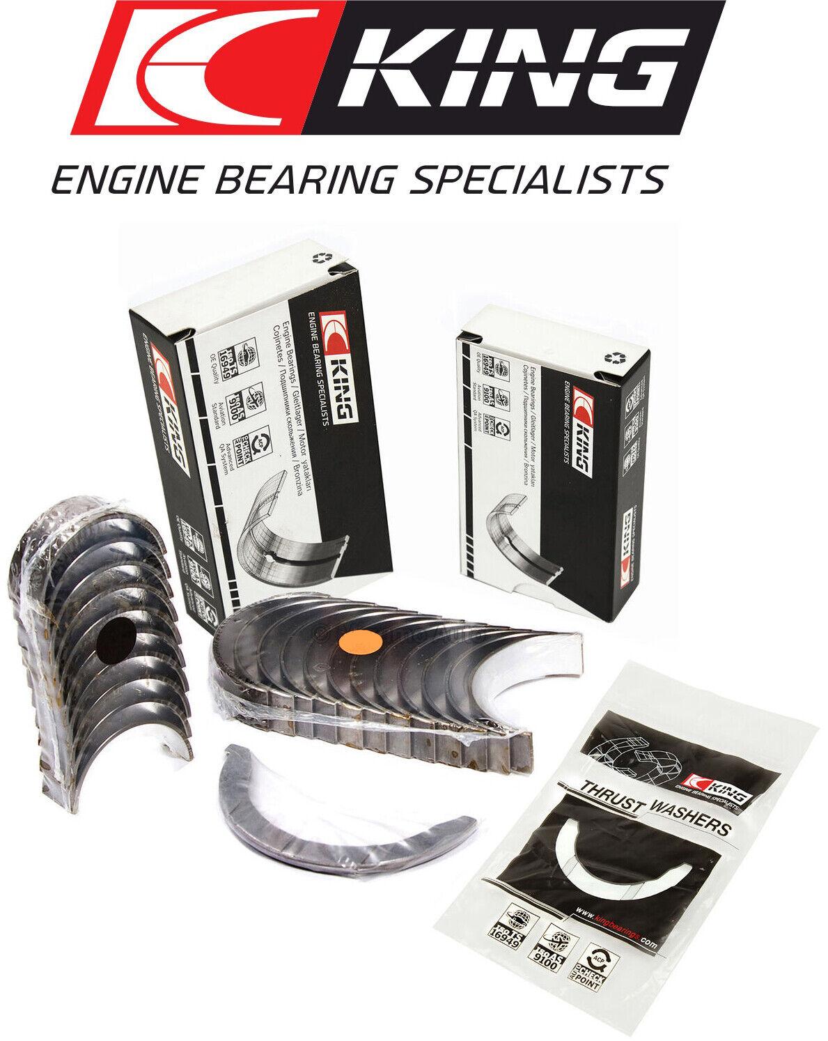 Fit 86-00 Honda Civic CRX Acura Integra 1.6 Main Rod Bearings D16A6 D16Y7 D16Y8