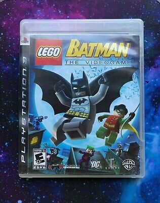LEGO Batman: The Videogame (PS3) Complete with Manual!
