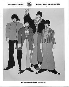 Beatles Yellow Submarine Original 8x10 Photo K6290