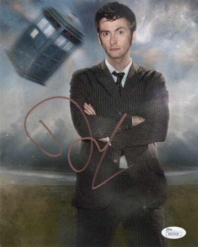 David Tennant Doctor Who Autographed Signed 8x10 Photo JSA COA #4