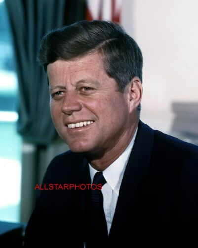 President John F. Kennedy Jr. JFK Portrait 11 x 14 Photo Photograph Picture
